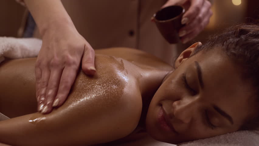 Simone Sonay is enjoying a perfect massage from her strong masseur  2299920