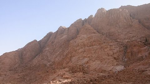 the view of the surrounding of Mount Sinai