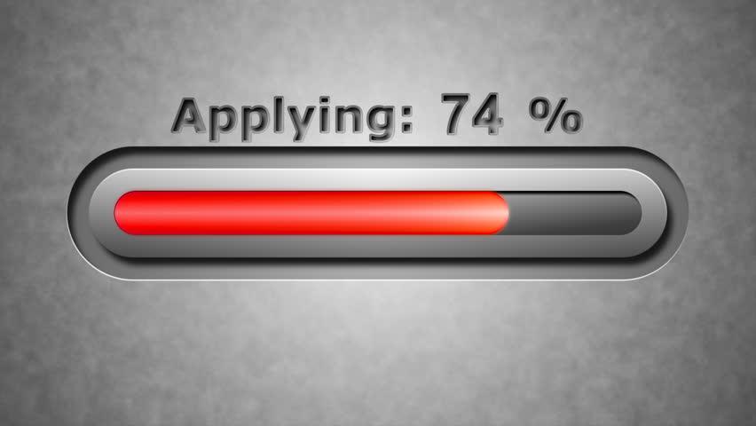 Process of Applying. 4K