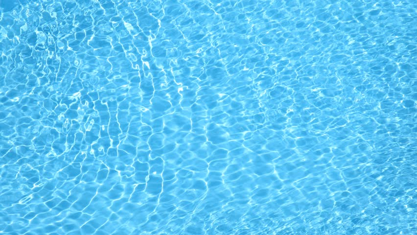 Pool Water Background swimming pool with ripple turquoise water background stock footage