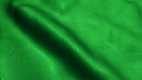 Beautiful looping flag blowing in wind: Libya