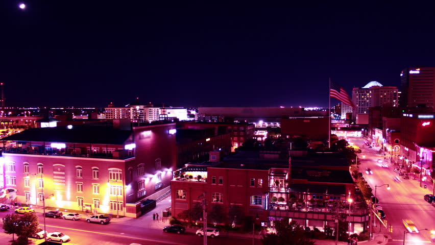 A motion time-lapse of Downtown Oklahoma City | Shutterstock HD Video #2782645