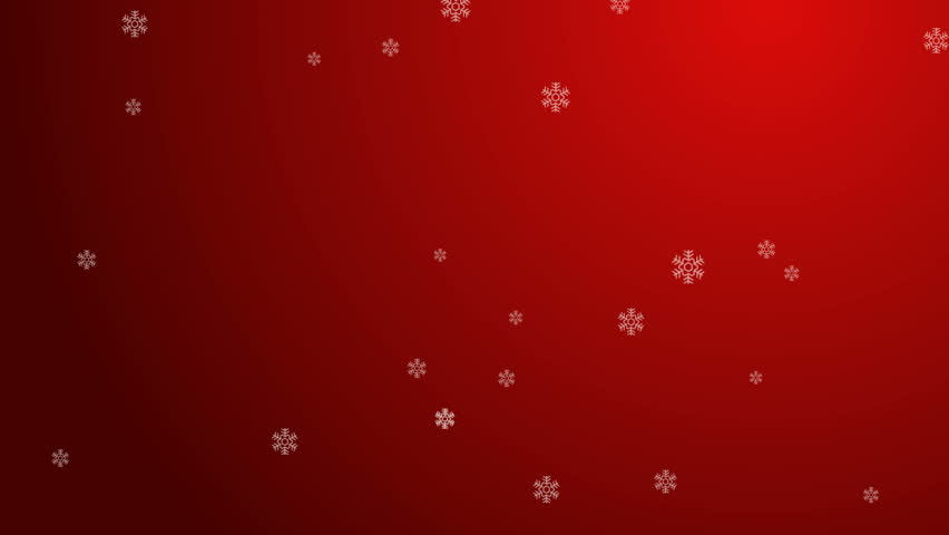 Nice Christmas Background With Snow Stock Footage Video