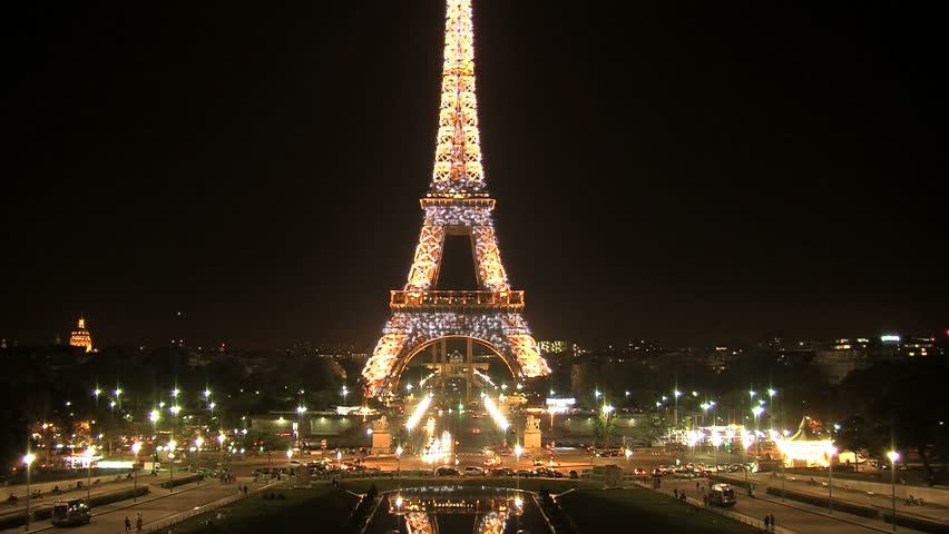 Paris At Night Stock Footage Video | Shutterstock