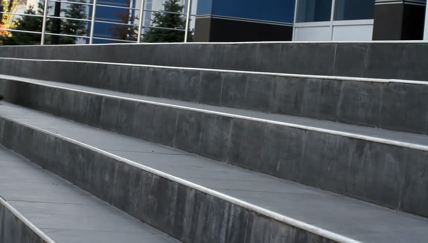 Feet of people coming up the stairs | Shutterstock HD Video #2809675