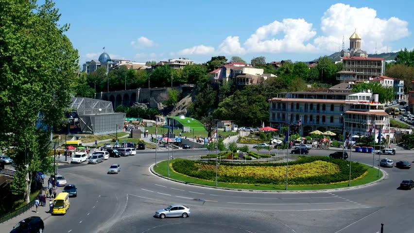 تبلیسوبا-و-محدودیتهای-ترافیکی-در-میدان-اروپا