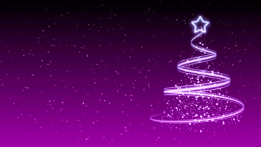 Christmas Tree Background - Merry Christmas 33 (HD) Stock Footage ...