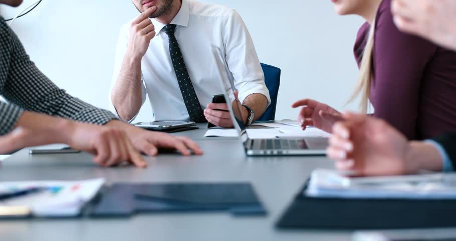 Creative business team in a meeting | Shutterstock HD Video #28128685