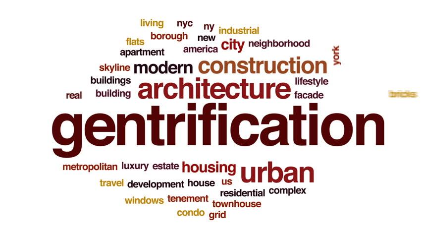 Header of gentrification