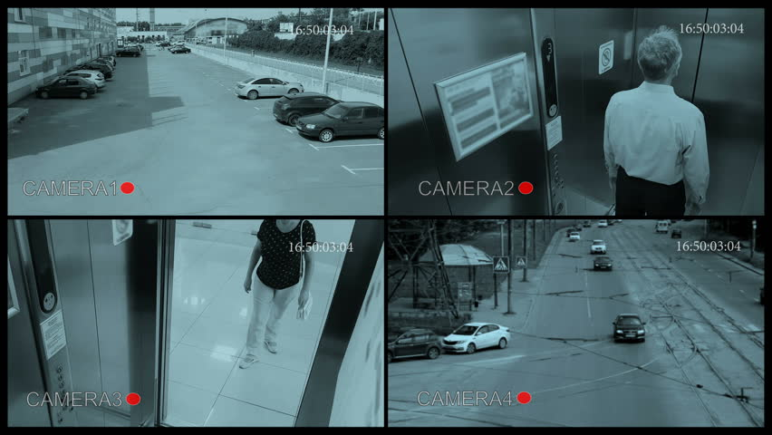 POV Security Camera View.  | Shutterstock HD Video #28256425