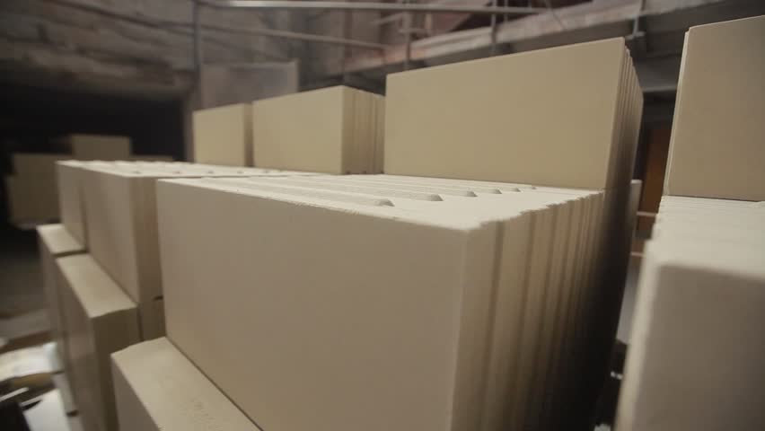 Production of blocks for walls.  Manufacturing of blocks for walls.  #28279555