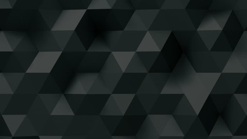 Geometric Triangle Wall waving background.   Shutterstock HD Video #28360675