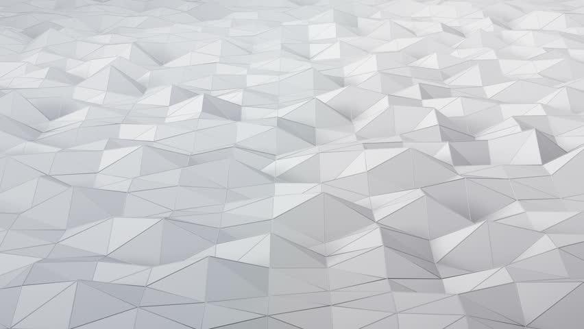 Geometric Triangle Wall waving background. | Shutterstock HD Video #28360987