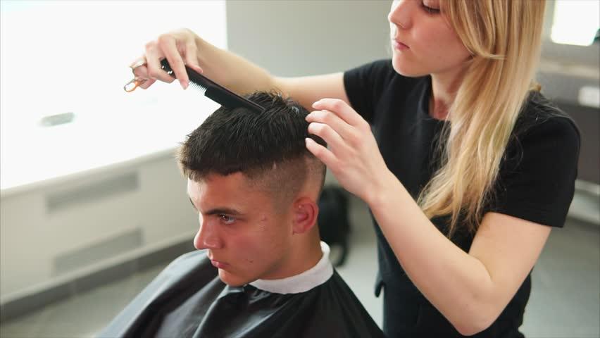 Getting A Haircut 5