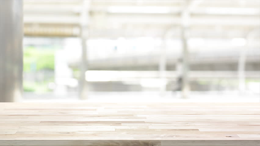 Wood Table Top On White Stock Footage Video 100 Royalty Free 28447765 Shutterstock