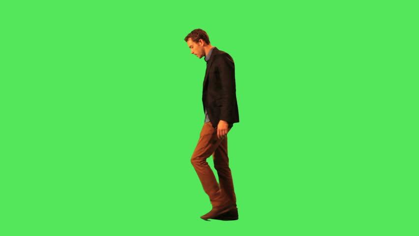 Male walking to work | Shutterstock Video #2851096