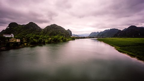 Phong Nha Ke Bang time lapse, Vietnam