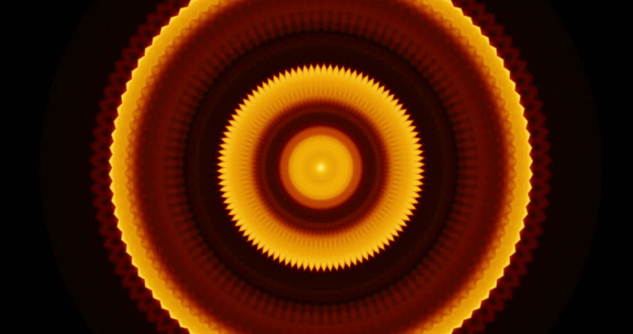 Warm orange tunnel background with unique circle shapes | Shutterstock HD Video #28602235