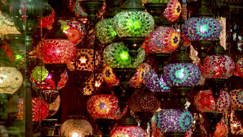 Lamps bazaar   Shutterstock HD Video #28609975
