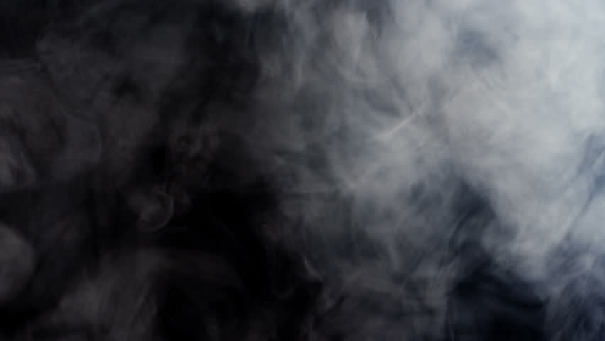 Smoke ascending slowly and floating in space against black background, 4k | Shutterstock HD Video #28618555