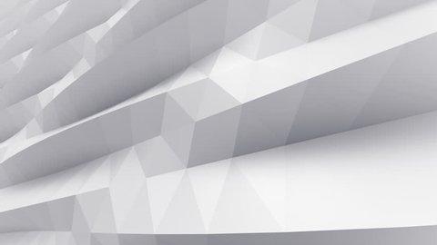 Geometric Triangle Wall waving background