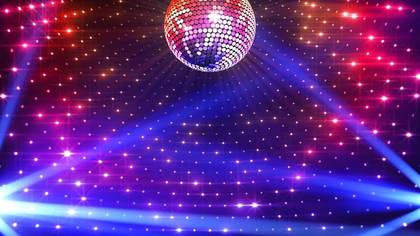 Disco mirror ball lights stock footage video 100 - Club lights wallpaper ...