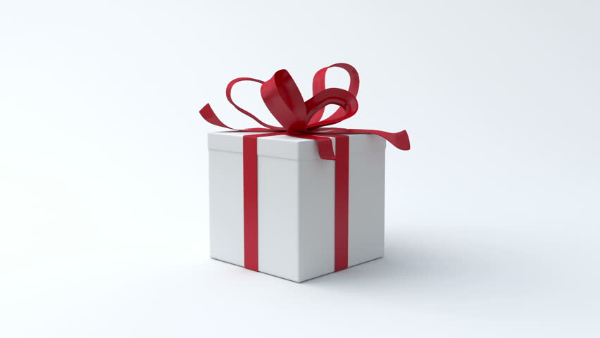 White gift box with red ribbon opening include alpha channel and white gift box with red ribbon opening include alpha channel and color channel to key individual elements and tracking 2871475 shutterstock negle Gallery