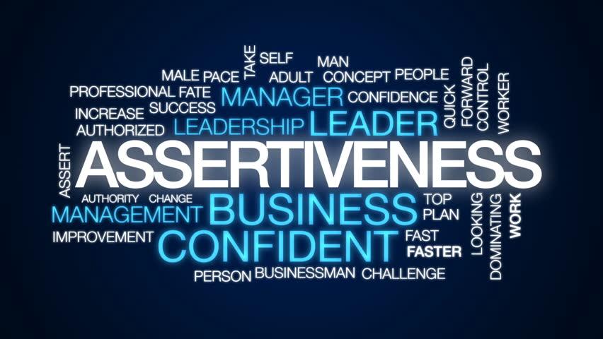 Header of assertiveness