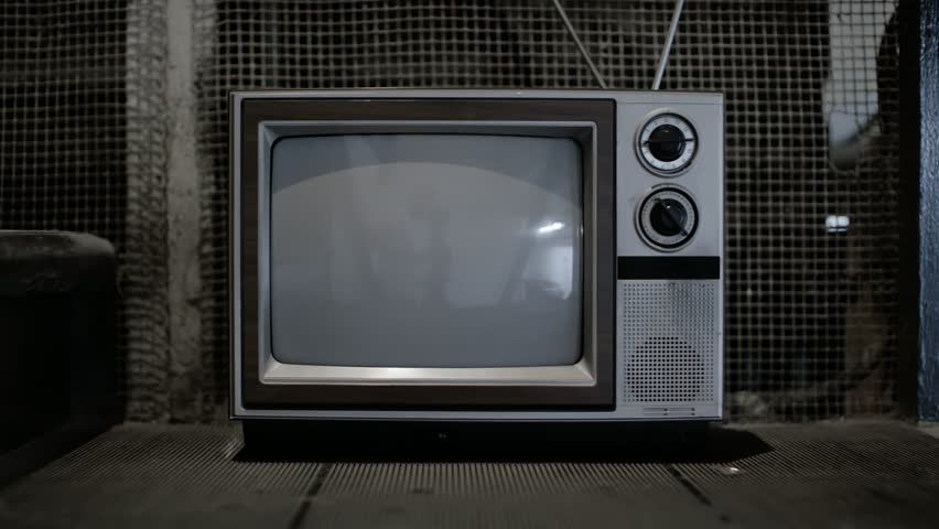 Vintage television in freight elevator | Shutterstock HD Video #28749745