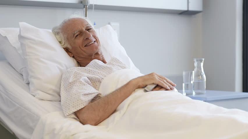 Lying In Hospital Bed Selfie