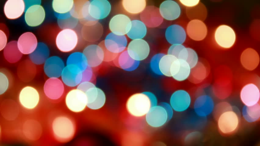 Blurred Christmas Lights Background. Stock Footage Video ...