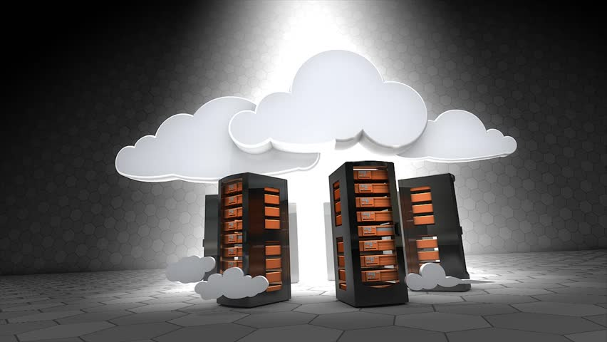 Concept animation, Cloud server. | Shutterstock HD Video #2880466
