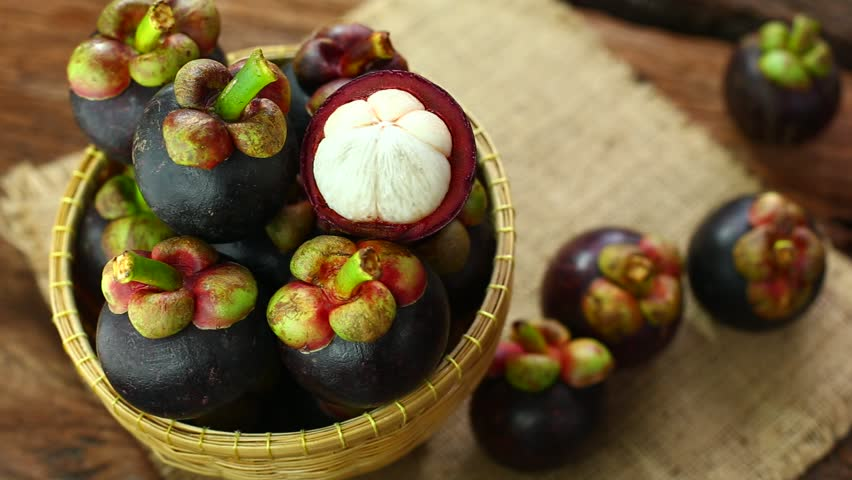 Mangosteen Fruits Pictures