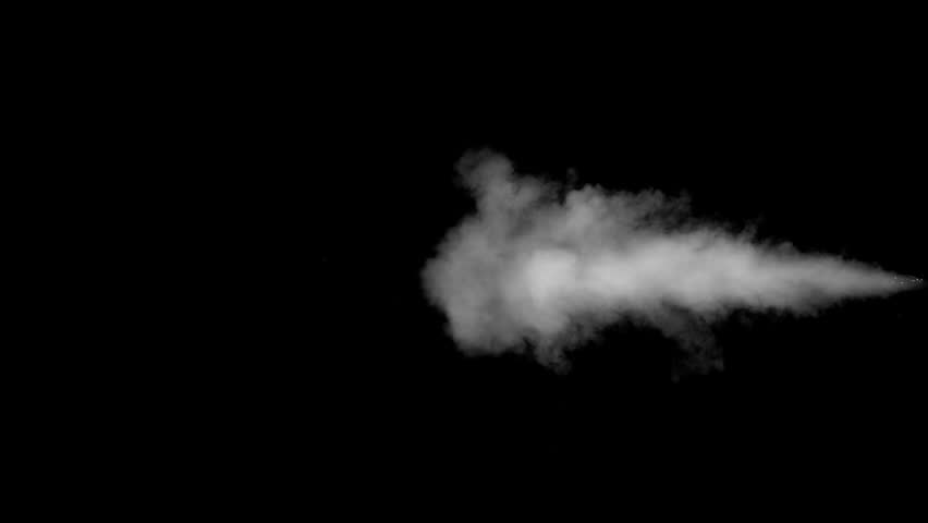 White water vapour on a black background. Close-up shot | Shutterstock HD Video #28955995