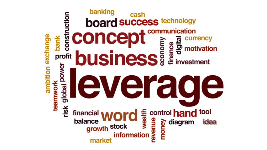 Leverage animated word cloud, text design animation.