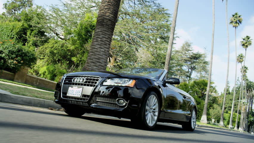 Audi Beverly Hills RoyaltyFree Stock Video In K And HD Shutterstock - Audi beverly hills