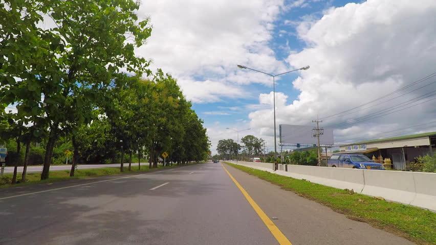 On Phet Kasem Road , Cha-Am District , Phetchaburi Province , Thailand
