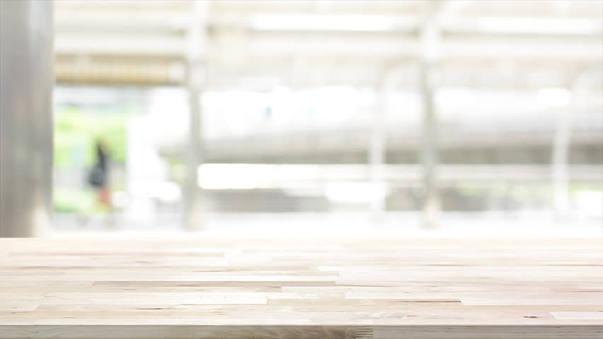 Wood Table Top On White Stock Footage Video 100 Royalty Free 29220445 Shutterstock