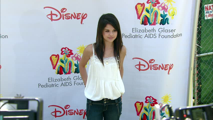 Los Angeles, CA - JUNE 08, 2008: Selena Gomez, walks the red carpet at the A Time For Heroes Celebrity Carnival 2008 held at the Wadsworth Theatre