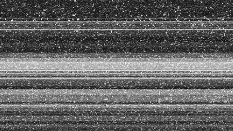 Three tv noise abstract backgrounds with glitch effect