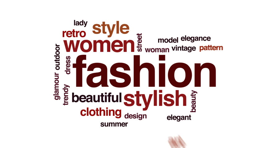 Fashion Animated Word Cloud, Text Stock Footage Video (100% Royalty-free)  29359615 | Shutterstock