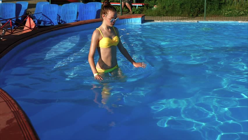 People Playing In Indoor Water Park On Water Slide Stock Footage Video 5769809 Shutterstock