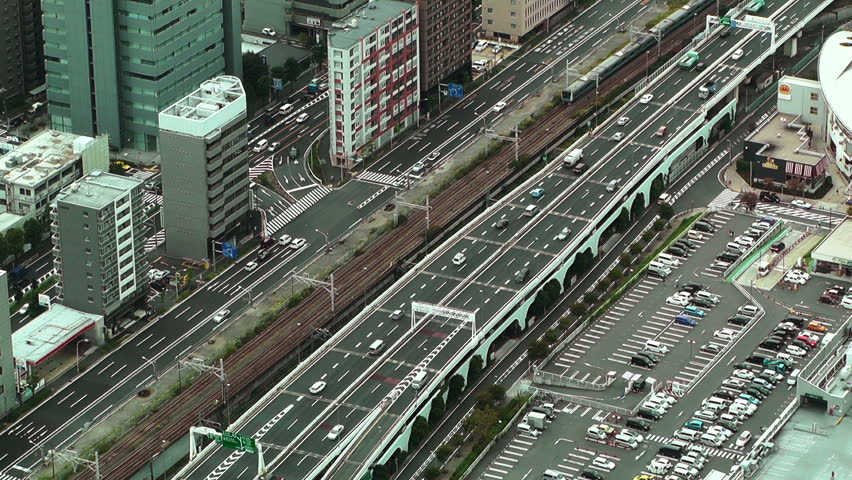 Yokohama Aerial Japan from the Minatomirai district | Shutterstock HD Video #2953855