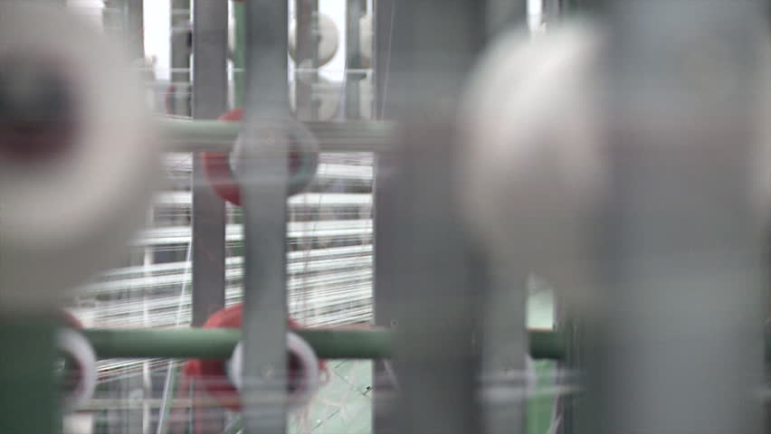 Industrial textile factory - spinning | Shutterstock HD Video #29580805