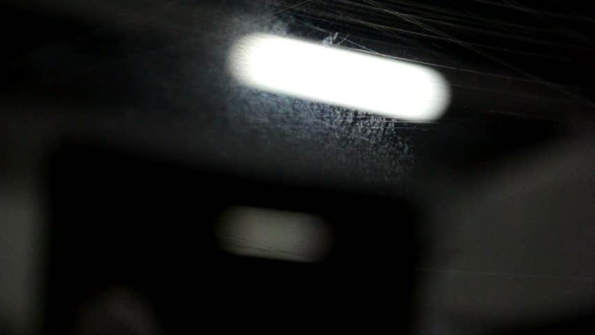 Dark Basement Hd. Visuals For Vjs, Public Lighting On Transportation In  Barcelona Catalunya 08b