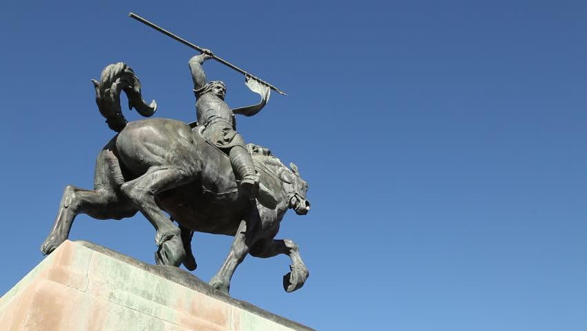 El Cid Statue in San Stock Footage Video (100% Royalty-free) 29636875 |  Shutterstock