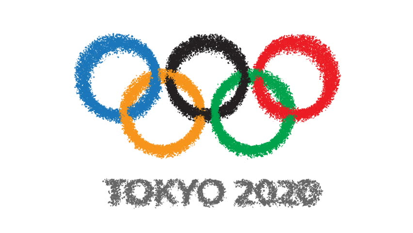TOKYO - CIRCA 2013: Tokyo 2020 Olympic Games Candidate ... Olympic Rings 2020