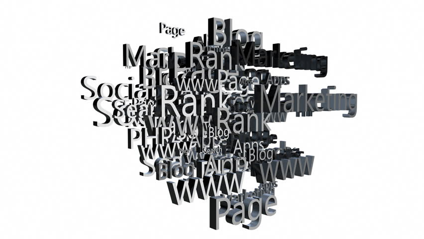 Internet Cloud against white | Shutterstock HD Video #2978215