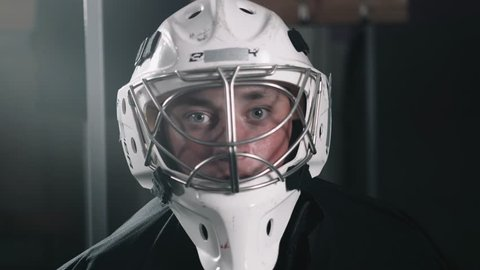 1000 Hockey Goalie Mask Stock Video Clips And Footage Royalty Free