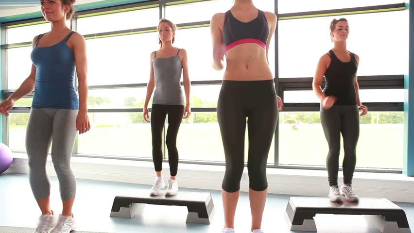 Header of aerobics